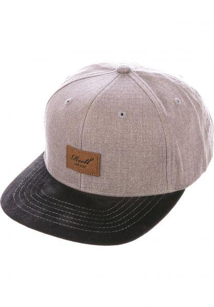 Reell Caps Suede 6-Panel washedbrown vorderansicht 0564484