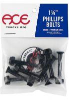 ace-montagesaetze-bolts-phillips-1-1-4-black-vorderansicht-0196274