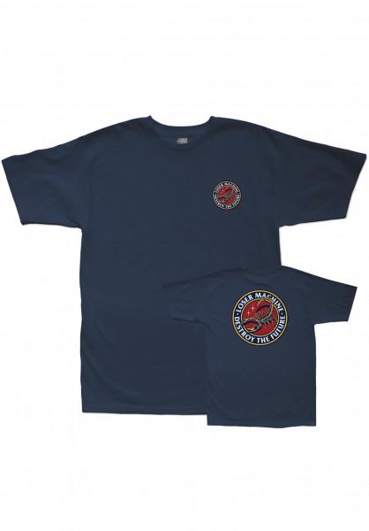 Loser-Machine T-Shirts Stinger navy Vorderansicht
