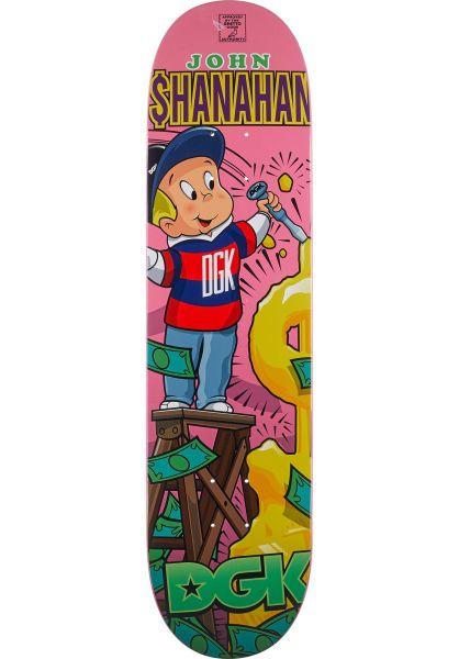 DGK Skateboard Decks Shanahan From Nothing multicolored vorderansicht 0262724