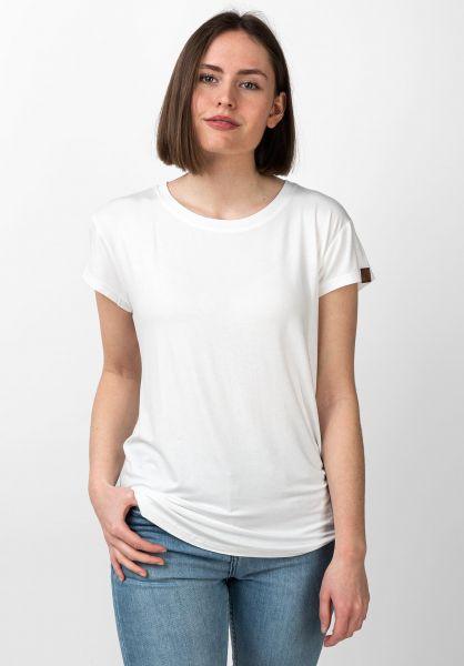 alife and kickin T-Shirts Mimmy white vorderansicht 0320759