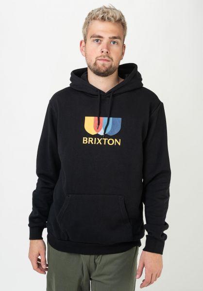 Brixton Hoodies Alton II black vorderansicht 0446027