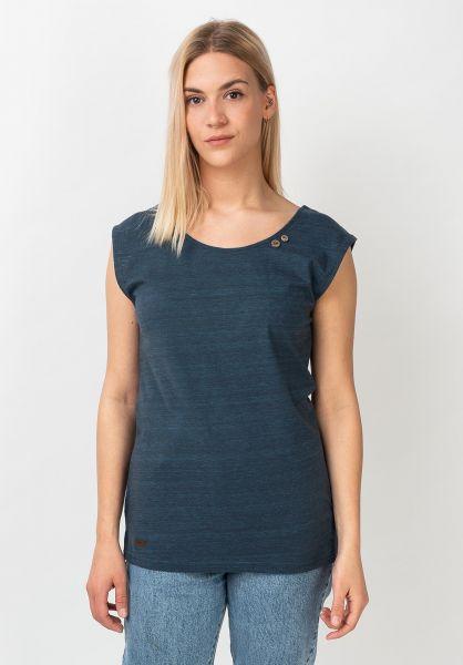 Ragwear T-Shirts Sofia navy vorderansicht 0321148