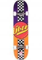 ÿBER Skateboard komplett Fast Back orange-purple Vorderansicht