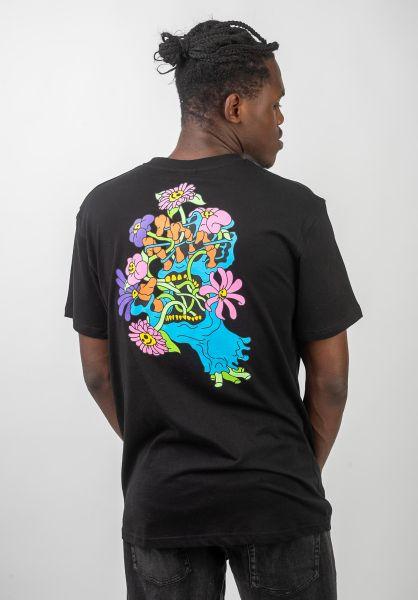 Santa-Cruz T-Shirts Baked Hand black vorderansicht 0320435