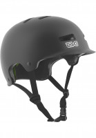 TSG-Helme-Recon-Solid-Color-satin-black-Vorderansicht