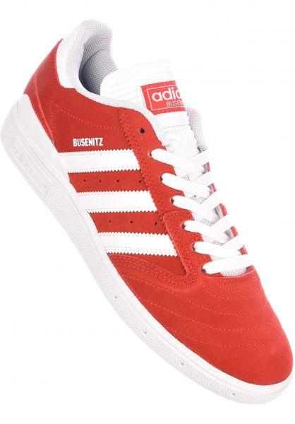 adidas-skateboarding Alle Schuhe Busenitz Pro scarlet-white-white Vorderansicht