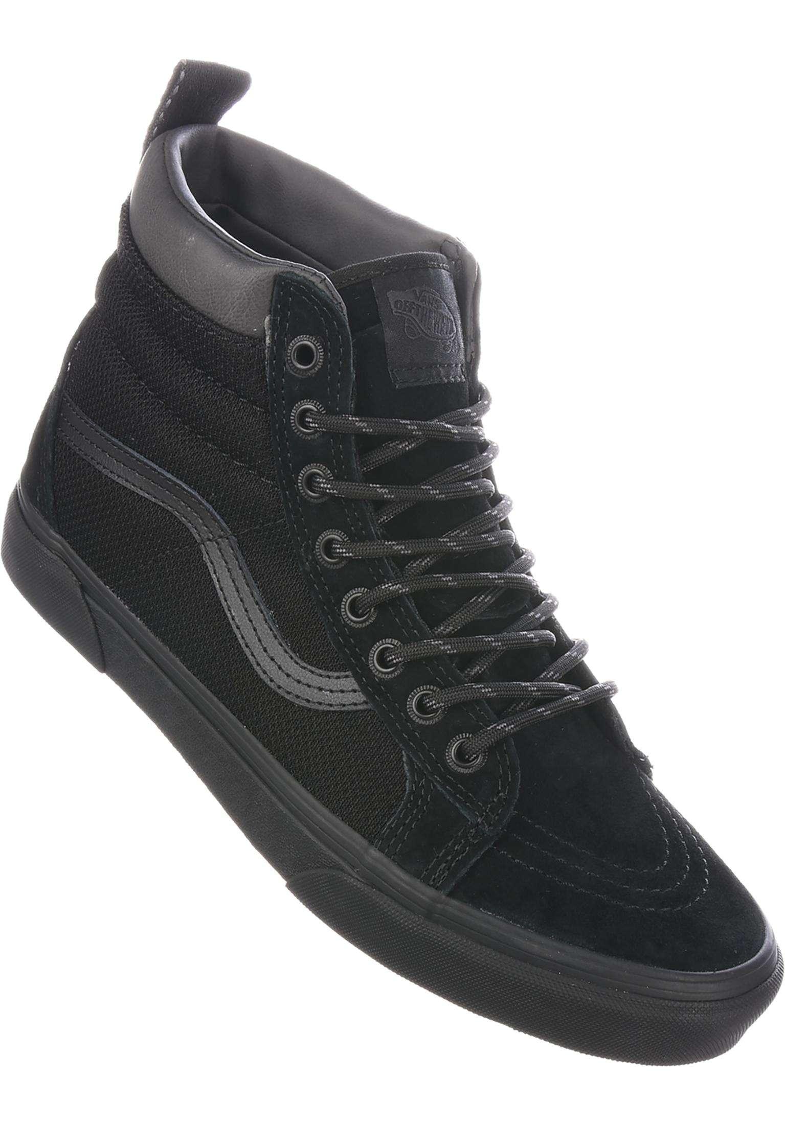 41e25c0932d7 Sk8 Hi MTE Vans All Shoes in black-ballistic for Men