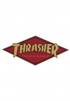 Thrasher-Verschiedenes-Diamond-Logo-Sticker-bordeaux-Vorderansicht