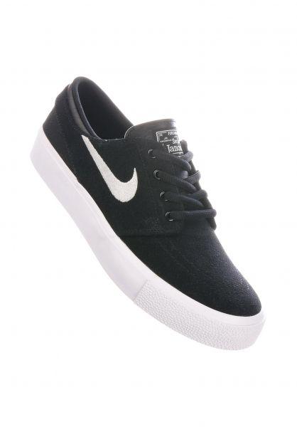 Nike SB Alle Schuhe Zoom Janoski Wmn black-white vorderansicht 0612576