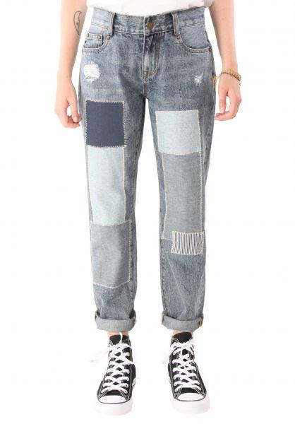 Plenty Humanwear Jeans Tara Patchwork lightdenim Vorderansicht