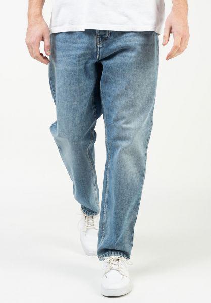 Carhartt WIP Jeans Newel Pant (Cropped) bluewornbleached vorderansicht 0227155