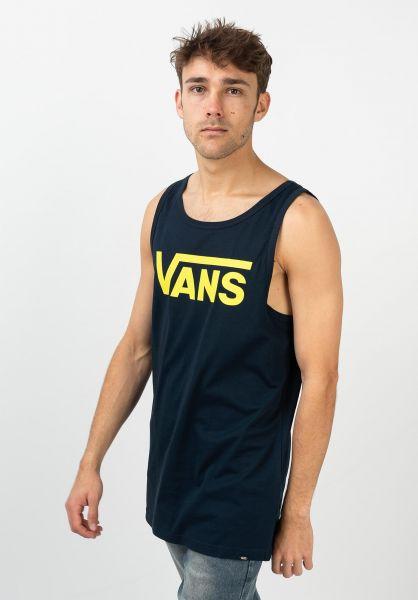 Vans Tank-Tops Classic navy-sulphurspring vorderansicht 0137685