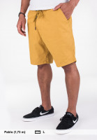 Reell Shorts Easy plainyellow Vorderansicht
