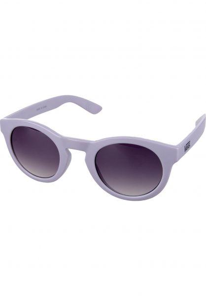 Vans Sonnenbrillen Lolligagger frosted-translucent vorderansicht 0590421