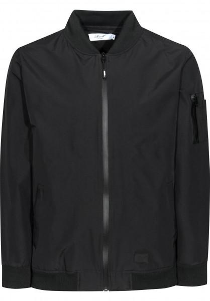 Reell Übergangsjacken Technical Flight Jacket black Vorderansicht