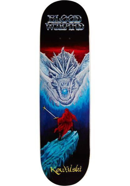 Blood Wizard Skateboard Decks Dragon Slayer - Kowalski black vorderansicht 0266302