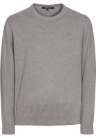 Makia-Strickpullover-Steel-Flag-grey-Vorderansicht