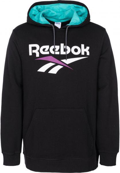 Reebok Hoodies CL V OTH black vorderansicht 0445091