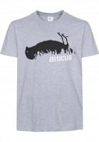 Atticus T-Shirts Incrowd heathergrey Vorderansicht