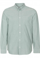 Carhartt WIP Hemden langarm Button Down Pocket softgreen Vorderansicht