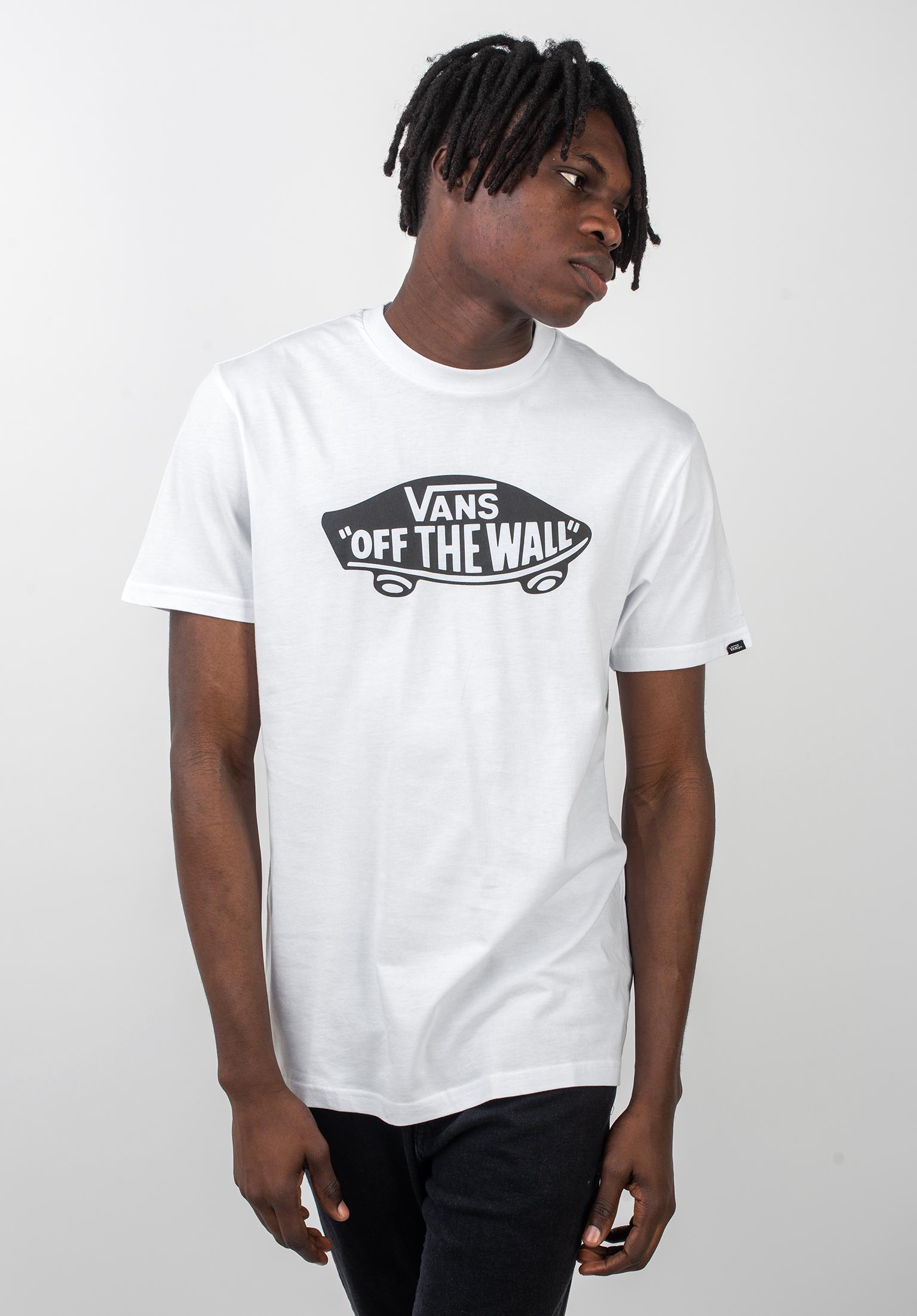 Otw Vans T Shirts In White Black Für Herren Titus