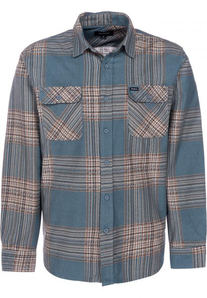 Brixton Hemden langarm Bowery LW atlantic vorderansicht 0411889