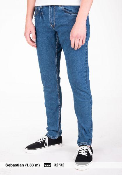 Reell Jeans Spider 90's-midblue Vorderansicht 0227065