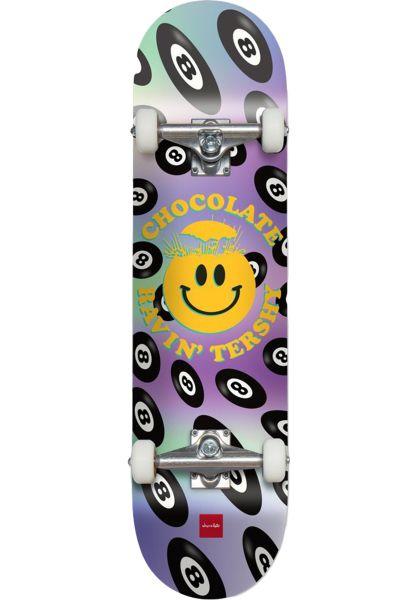 Chocolate Skateboard komplett Tershy Mind Blown multicolored vorderansicht 0162164