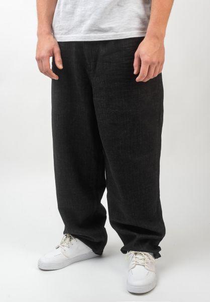 Reell Jeans Baggy blackdenim vorderansicht 0054721