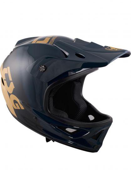 TSG Fullface-Helme Squad Junior Graphic Design triple urban vorderansicht 0257007