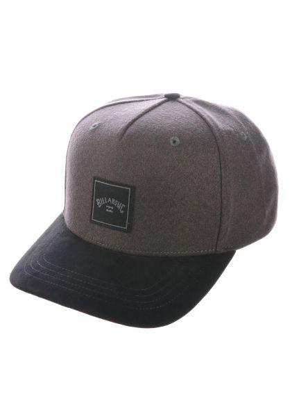 Billabong Caps Stacked Up grey-black vorderansicht 0566419
