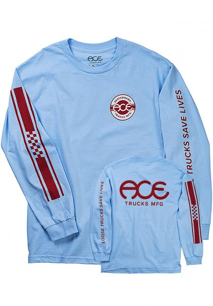 60ac7db3303 Retro Jersey Ace Longsleeves in babyblue for Men | Titus