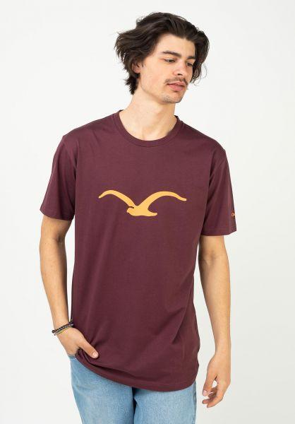 Cleptomanicx T-Shirts Möwe portroyale vorderansicht 0361321