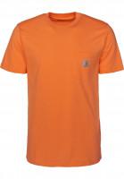 Carhartt WIP T-Shirts Pocket jaffa-gold Vorderansicht