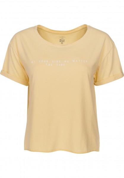 Billabong T-Shirts Remix mellow-yellow Vorderansicht