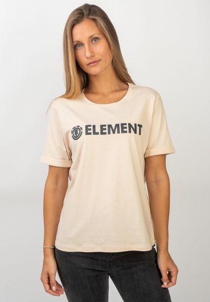 Element T-Shirts Element Logo whitesmoke vorderansicht 0395826