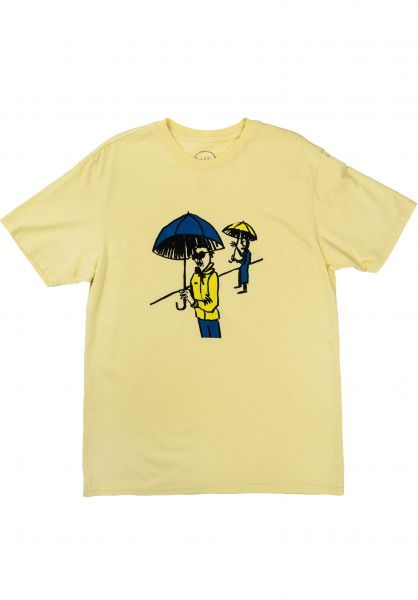 Transportation Unit T-Shirts Rainy Day pale-yellow vorderansicht 0320291