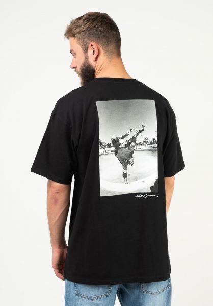 Vans T-Shirts Grosso Forever Pocket black vorderansicht 0324029