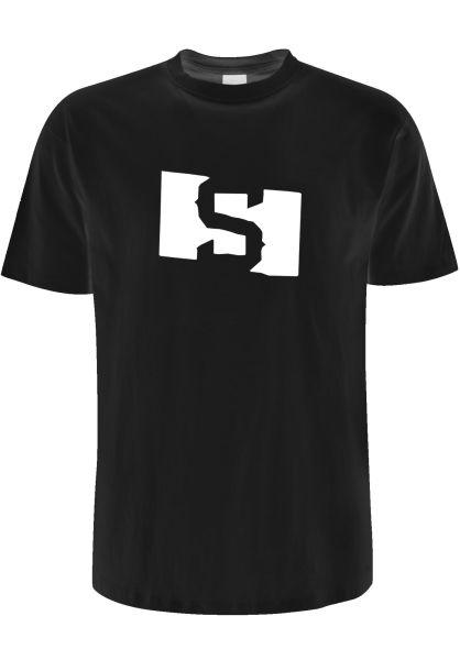 State T-Shirts S Flag black vorderansicht 0383334