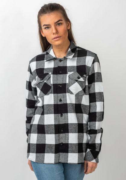 Dickies Hemden langarm Sacramento black vorderansicht 0411753