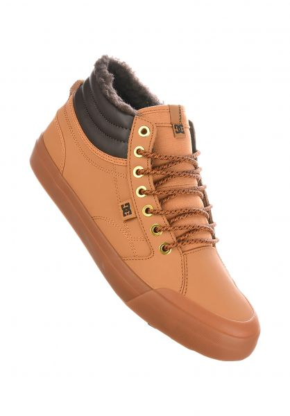 385855d7ee6 DC Shoes Alle Schuhe Evan Smith Hi WNT wheat-brown Vorderansicht