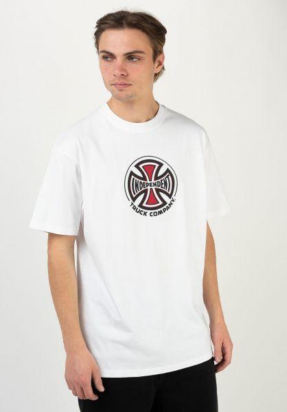Independent T-Shirts Truck Co. white vorderansicht 0321513