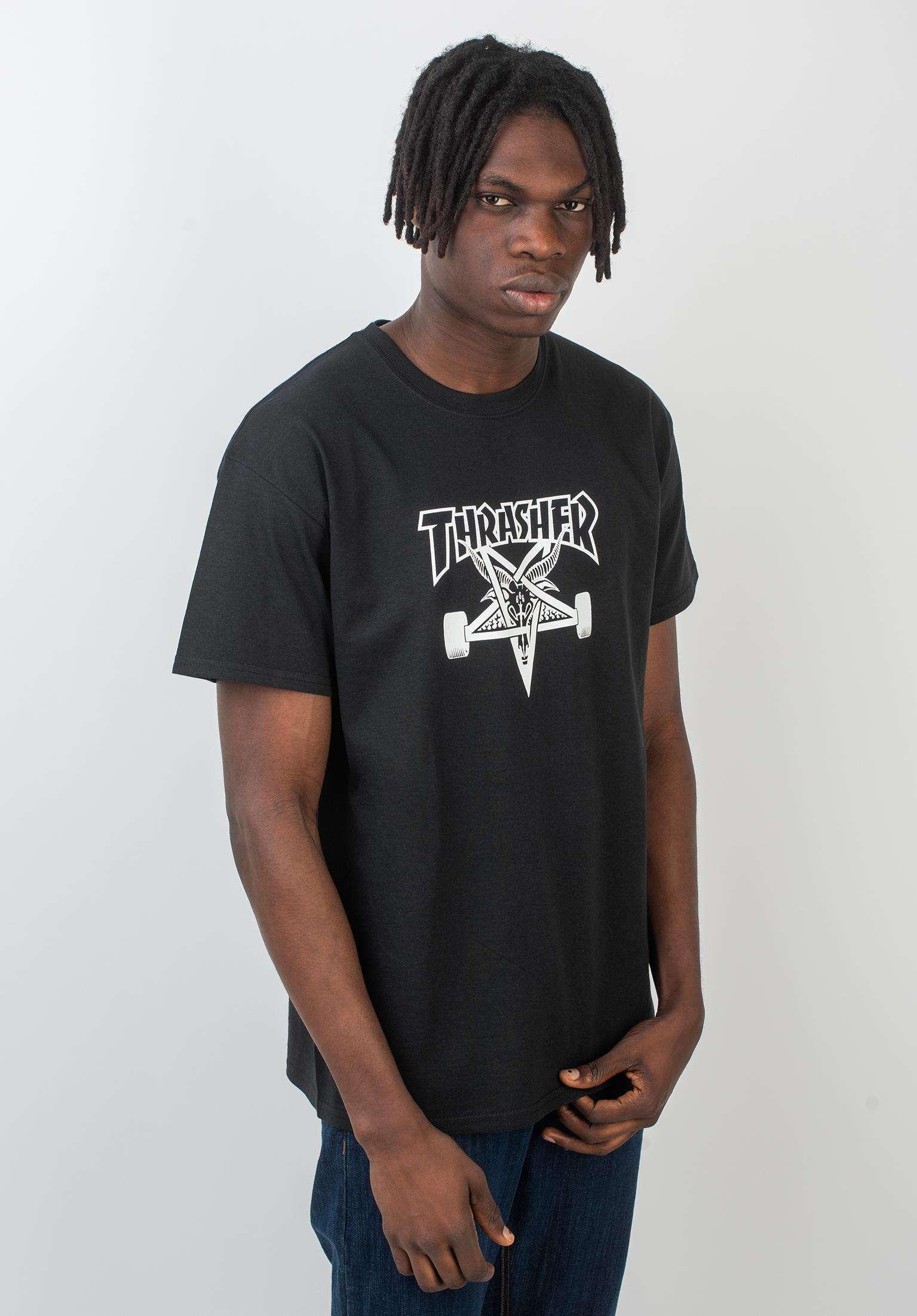 3d408aa5353e Skate Goat Thrasher T-Shirts in black for Men | Titus