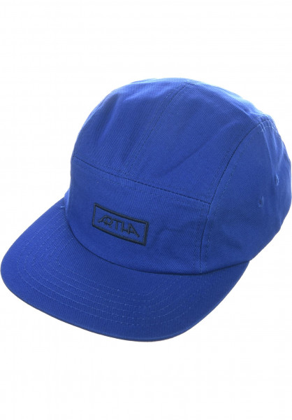 Artha Caps 5 Panel blue Vorderansicht