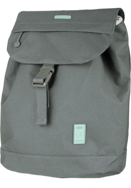 Lefrik Rucksäcke Flap Backpack Small grey vorderansicht 0880952