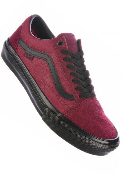 Vans Alle Schuhe Skate Old Skool port-black vorderansicht 0604963