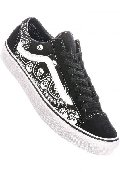 Vans Alle Schuhe Old Skool bandanablack-truewhite vorderansicht 0601244