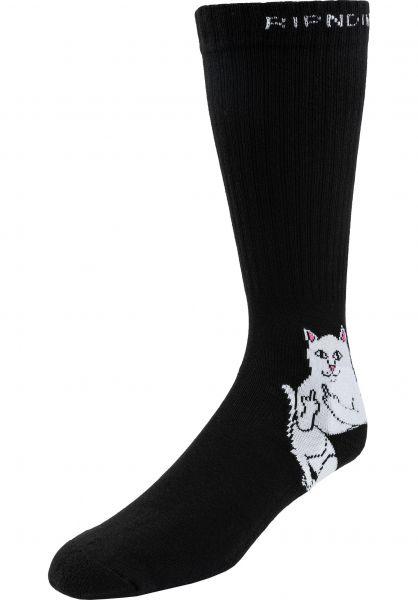 Rip N Dip Socken Lord Nermal black vorderansicht 0631896