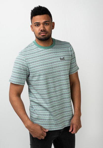 HUF T-Shirts Allen harborgrey vorderansicht 0321687